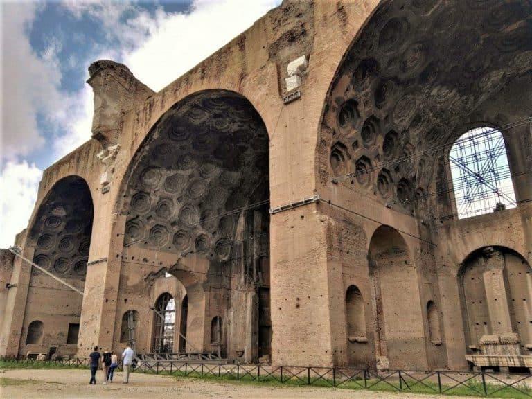 Oggi a lavoro presso: Basilica di Massenzio