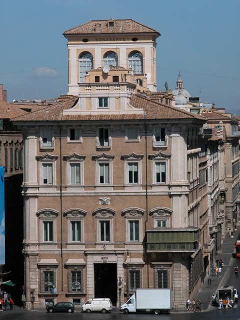 Oggi a lavoro presso: Palazzo Bonaparte