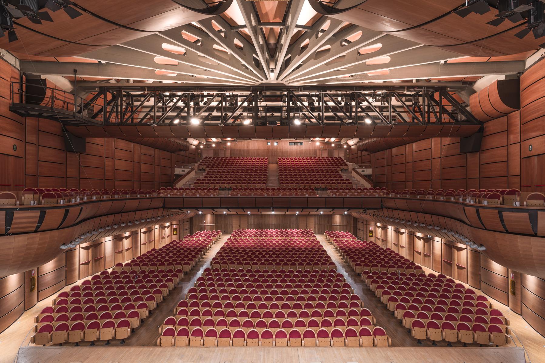 Oggi a lavoro presso: Auditorium Parco della Musica