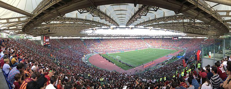 Oggi a lavoro presso: Stadio Olimpico